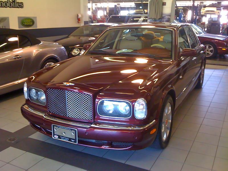 Exotic Car Rental Detroit >> Luxury sports car rental: Bentley Arnage T - the ultimate