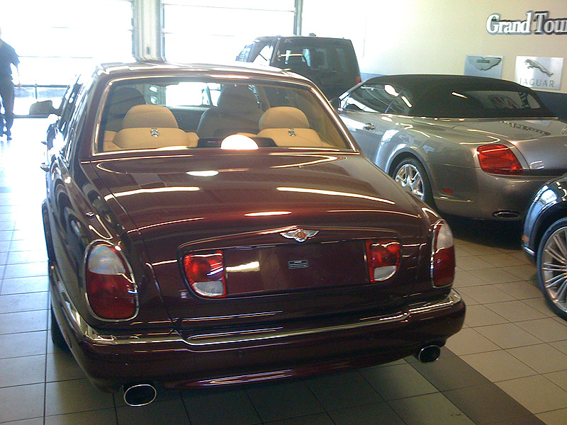 Luxury Sports Car Rental Bentley Arnage T The Ultimate