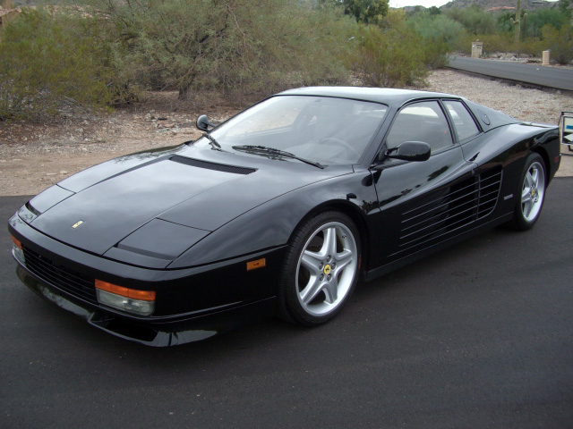 Luxury Sports Car Rental Ferrari Testarossa
